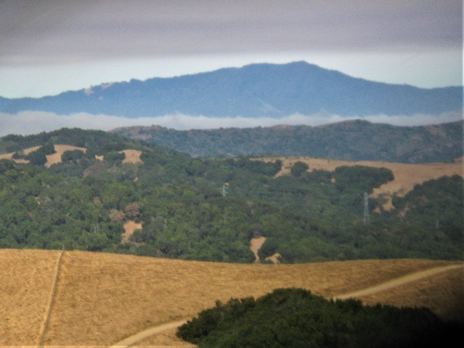 Trip photo #1/13 Mt. Tam sandwiched between cloud layers