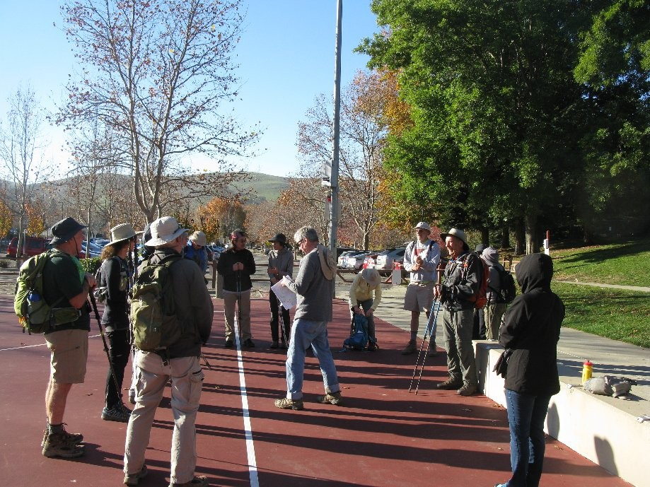 Trip photo #1/16 Gathering at Sycamore Valley Elem. School