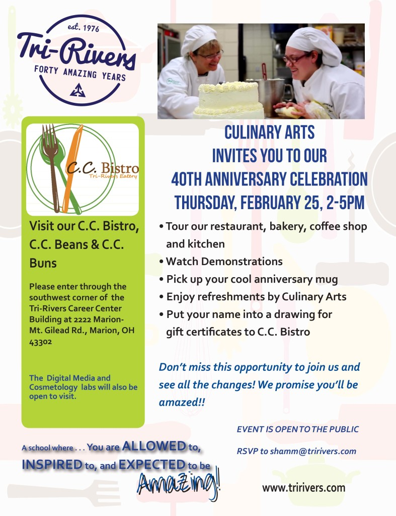 Culinary Archives - Tri-Rivers Career Center & Center for Adult ...