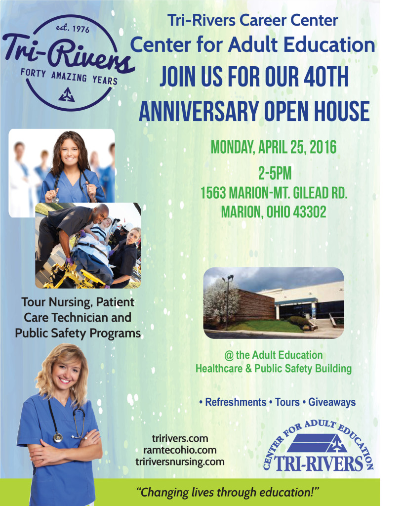 40th Anniversary flyer Adult