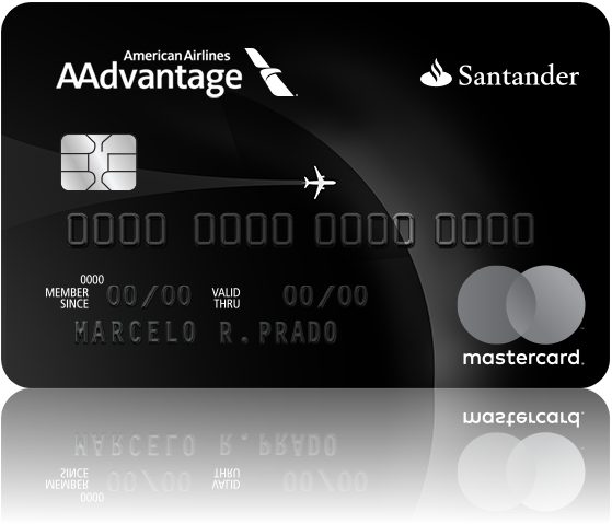 Aadvantage american airlines black
