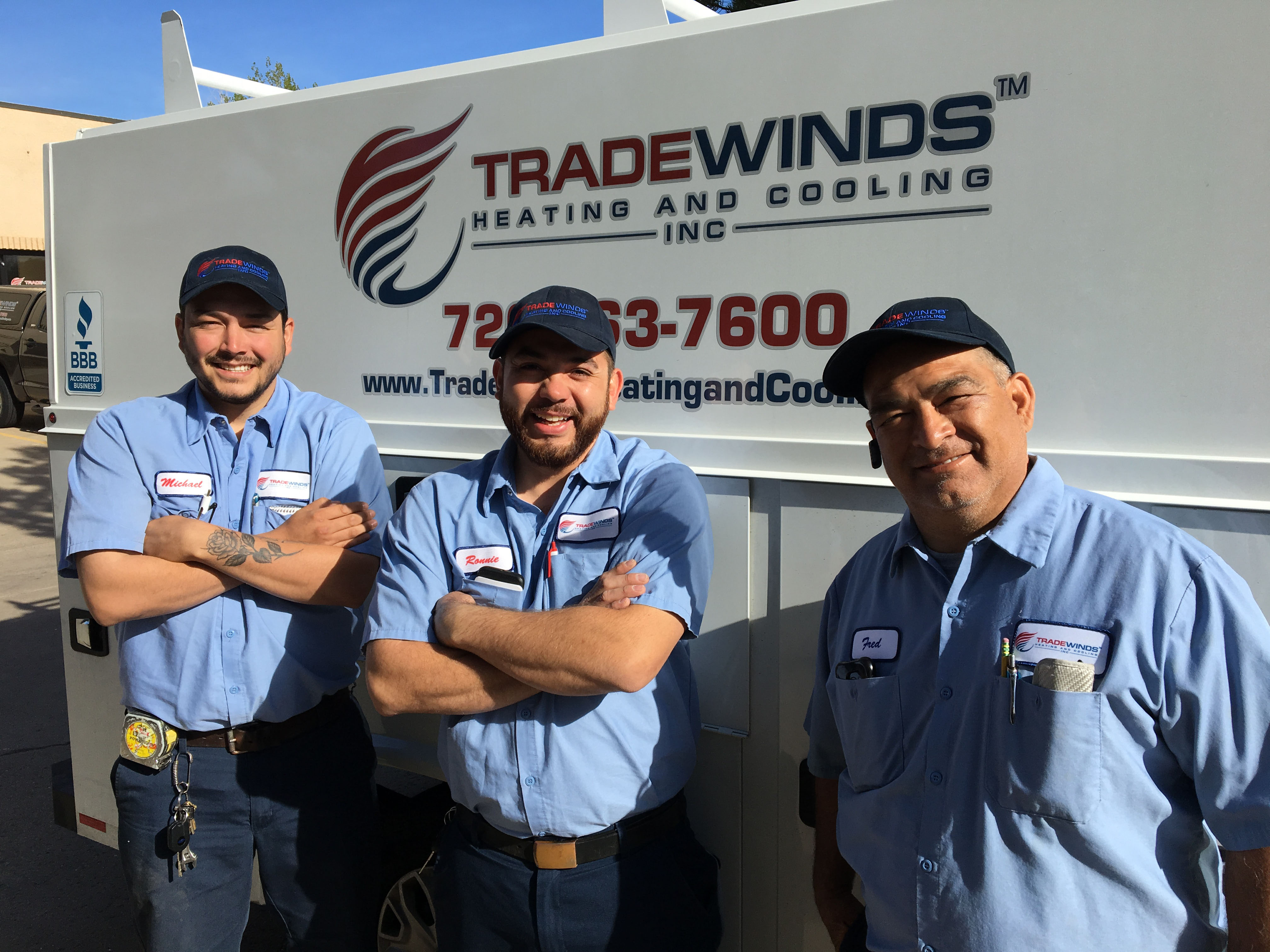 Colorado's Top Rated Local® HVAC Award Winner: Tradewinds Heating and Cooling Inc.