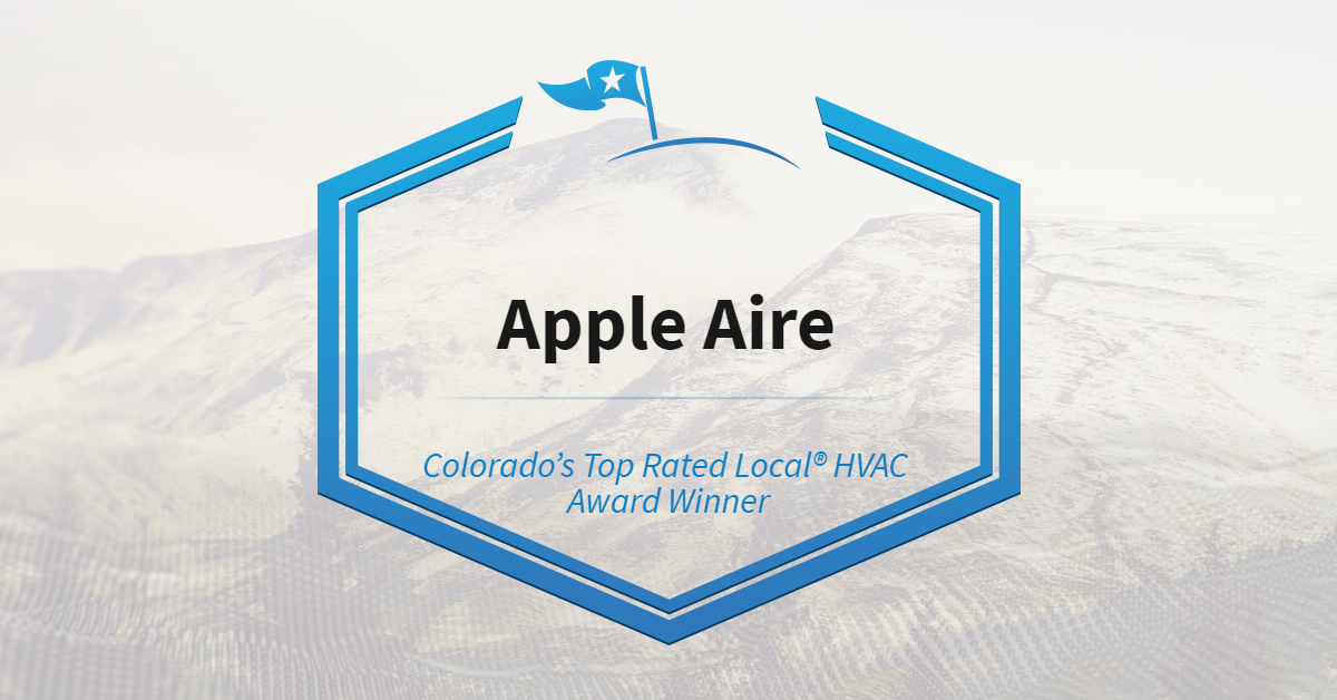 Colorado's Top Rated Local® HVAC Award Winner: Apple Aire