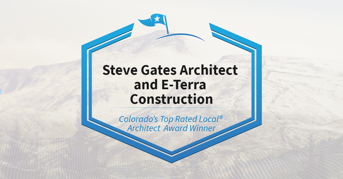 Colorado's Top Rated Local® Architect Award Winner: Steve Gates Architect