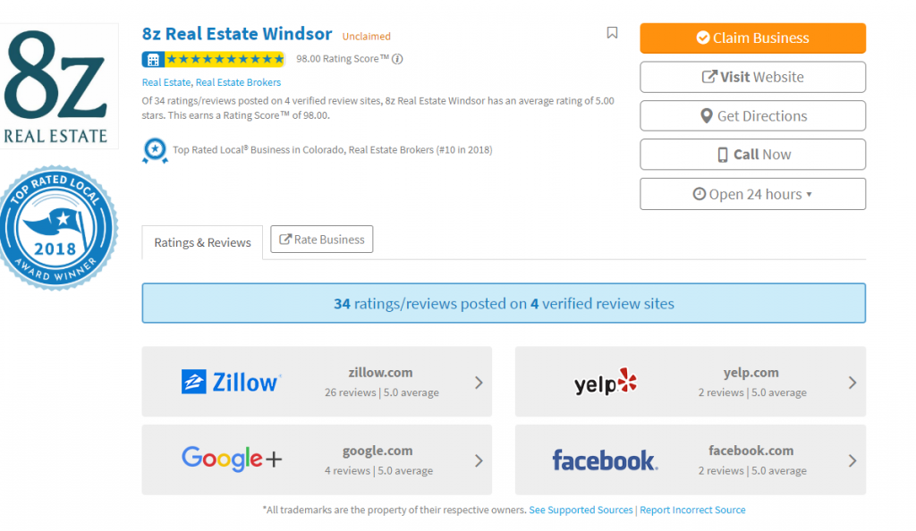 trl real estate page