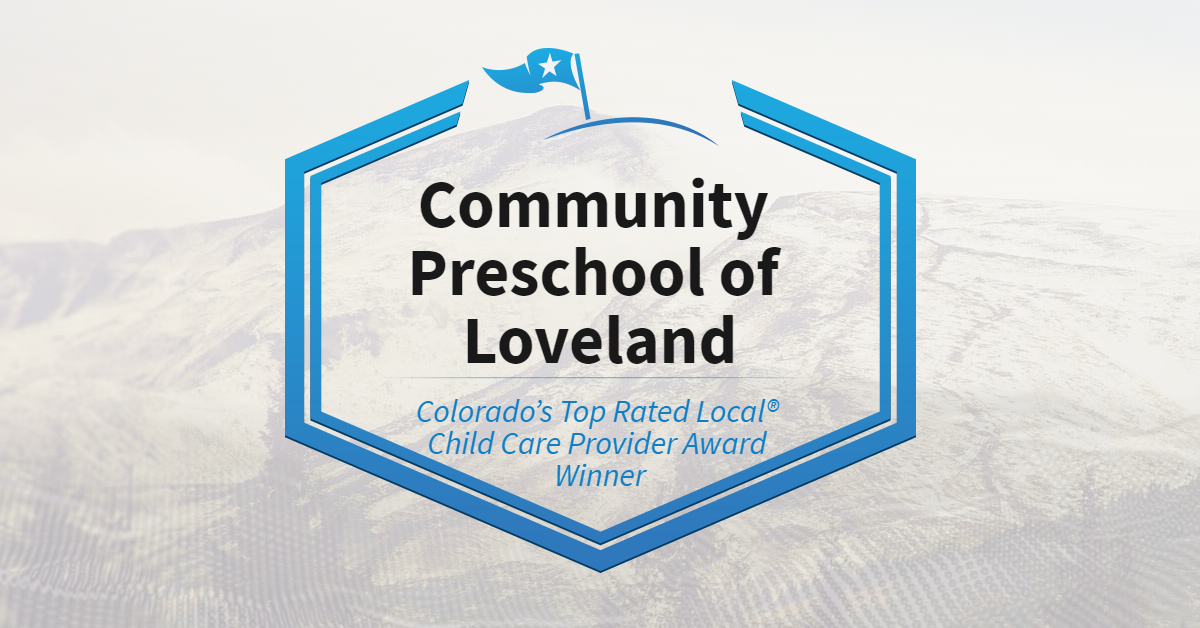 Colorado's Top Rated Local® Child Care Provider Award Winner: Community Preschool of Loveland