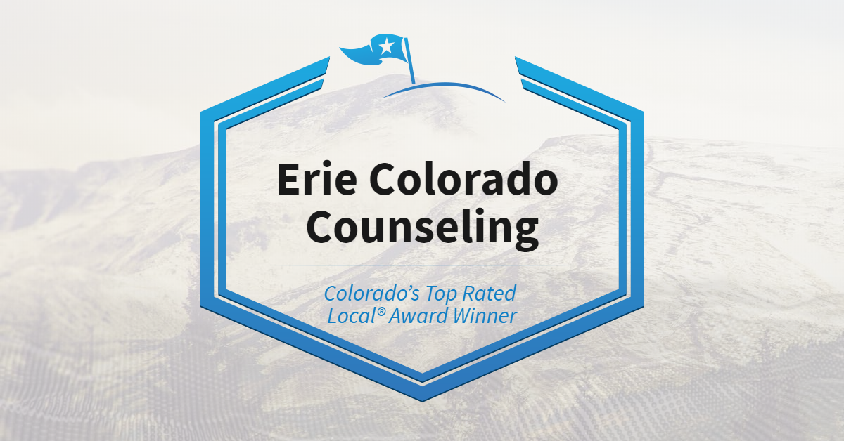 Colorado's Top Rated Local® Award Winner: Erie Colorado Counseling