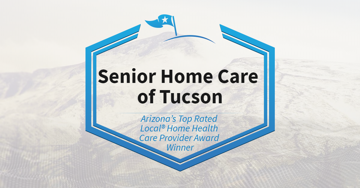Arizona's Top Rated Local® Home Health Care Provider Award Winner: Senior Home Care of Tucson