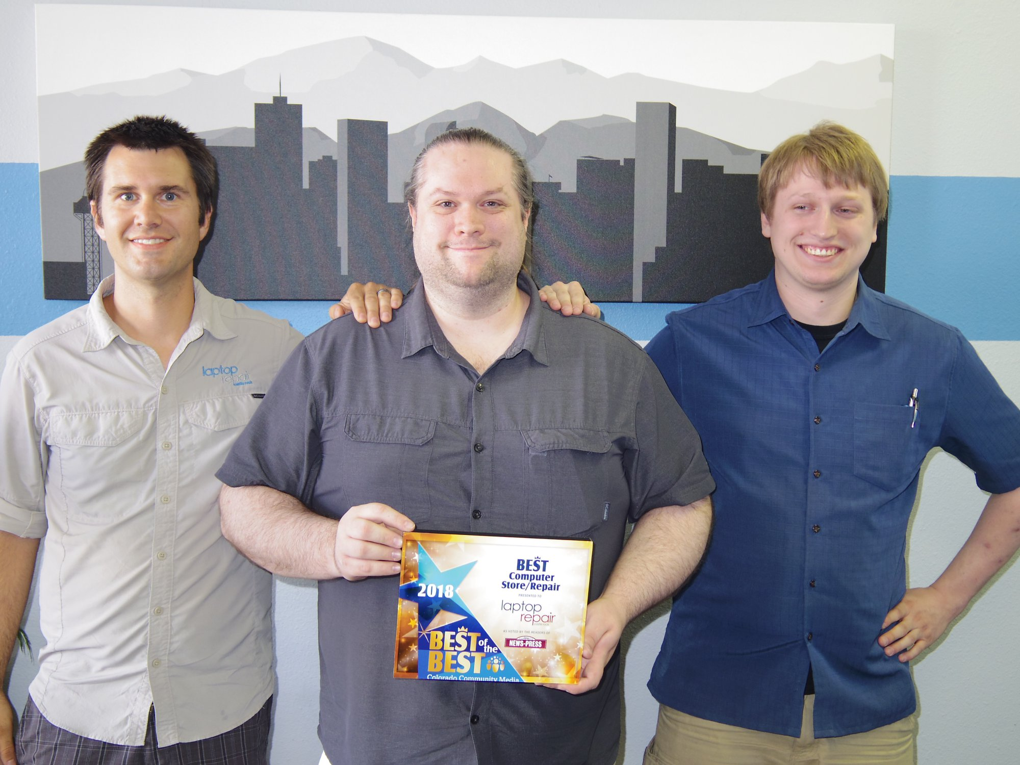 Colorado's Top Rated Local® IT Service Award Winner: Laptop Repair Castle Rock