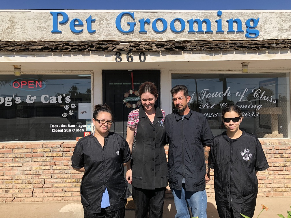 Arizona S Top Rated Local Pet Groomers Award Winner A Touch Of Class