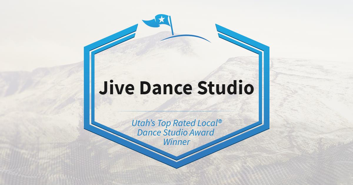 Utah's Top Rated Local® Dance Studio Award Winner: Jive Dance Studio