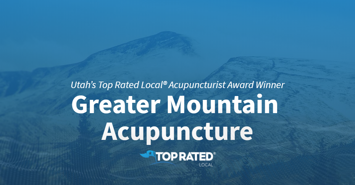 Utah's Top Rated Local® Acupuncturist Award Winner: Greater Mountain Acupuncture