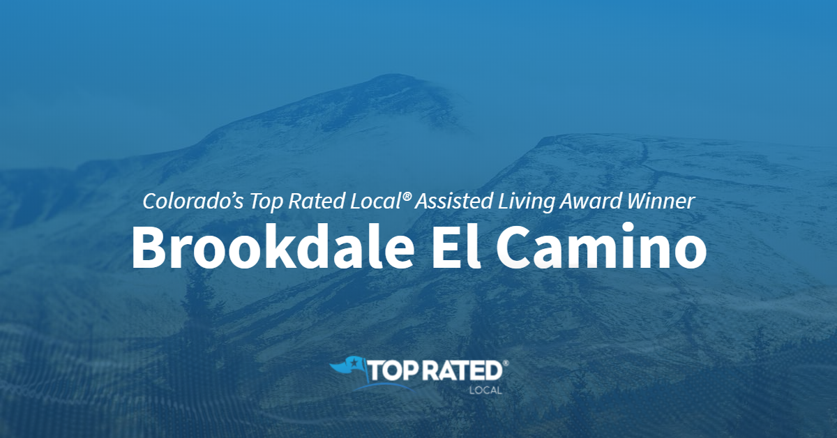 Colorado's Top Rated Local® Assisted Living Award Winner: Brookdale El Camino