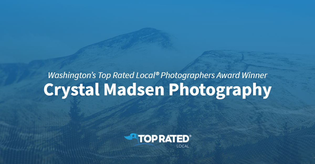 Washington's Top Rated Local® Photographers Award Winner: Crystal Madsen Photography