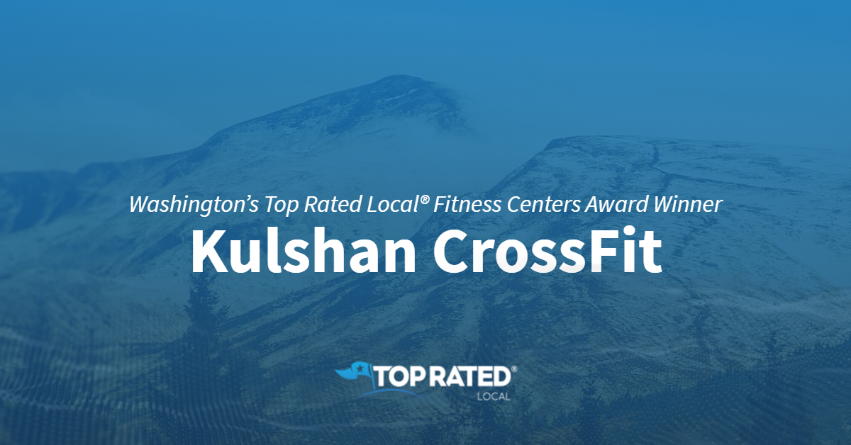 Washington's Top Rated Local® Fitness Centers Award Winner: Kulshan CrossFit