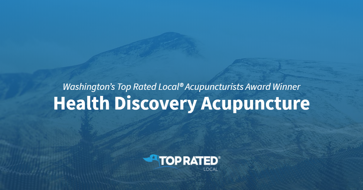 Washington's Top Rated Local® Acupuncturists Award Winner: Health Discovery Acupuncture