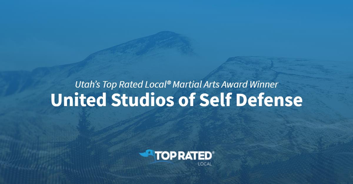 Utah's Top Rated Local® Martial Arts Award Winner: United Studios of Self Defense