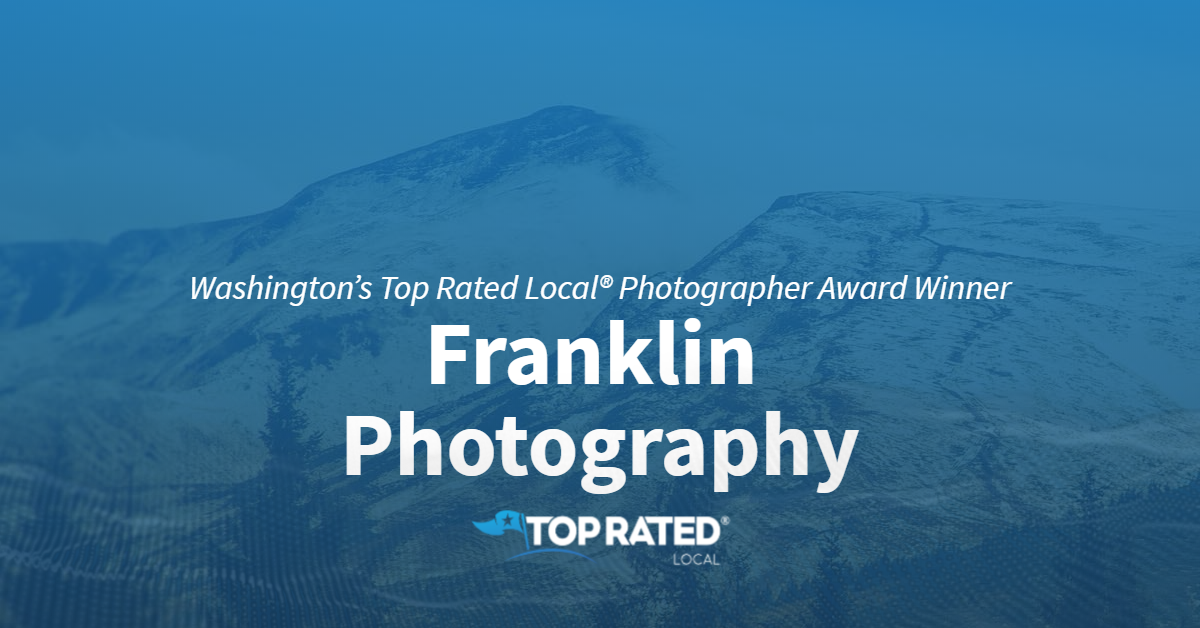 Washington's Top Rated Local® Photographer Award Winner: Franklin Photography