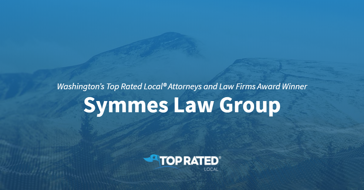 Washington's Top Rated Local® Attorneys and Law Firms Award Winner: Symmes Law Group