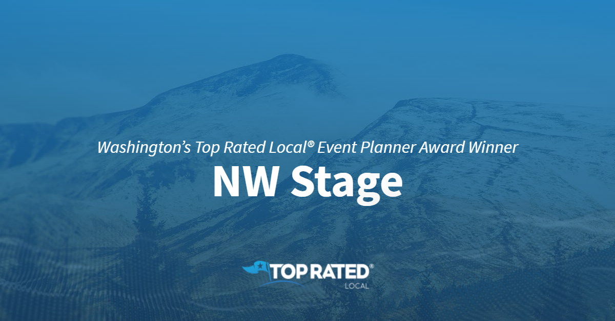 Washington's Top Rated Local® Event Planner Award Winner: NW Stage