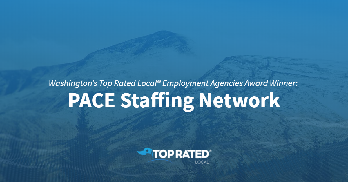 Washington's Top Rated Local® Employment Agencies Award Winner: PACE Staffing Network
