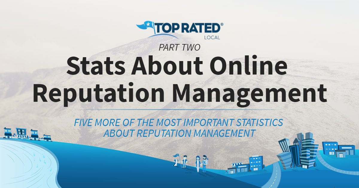 Stats About Online Reputation Management for 2018: Part Two