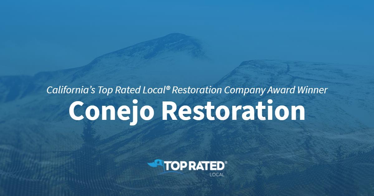 California's Top Rated Local® Restoration Company Award Winner: Conejo Restoration