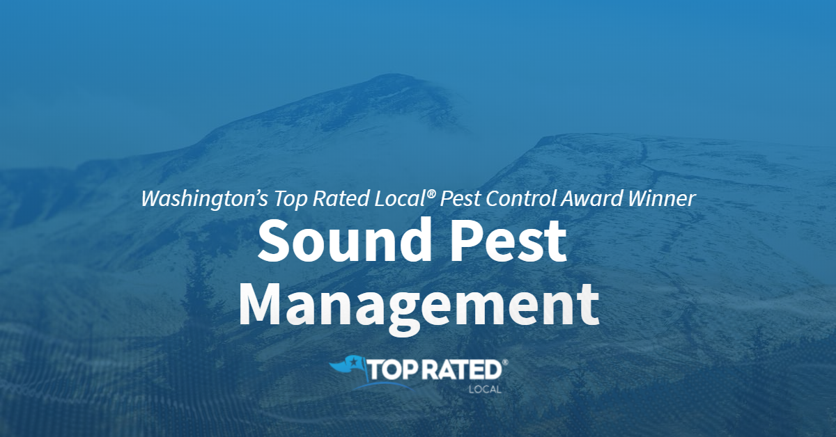 Washington's Top Rated Local® Pest Control Award Winner: Sound Pest Management