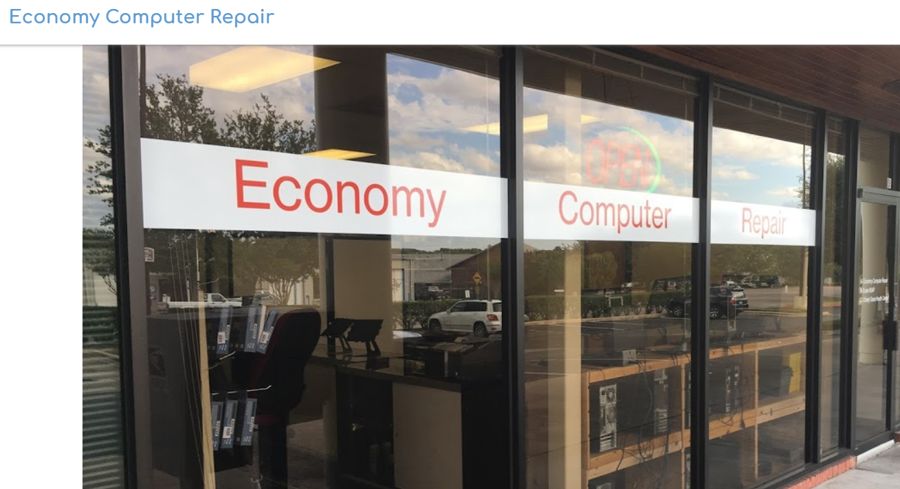 Texas' Top Rated Local® Computer IT Services Award Winner: Economy Computer Repair