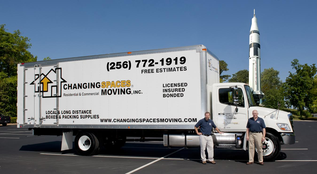 Alabama's Top Rated Local® Moving Companies Award Winner: Changing Spaces Moving Inc.