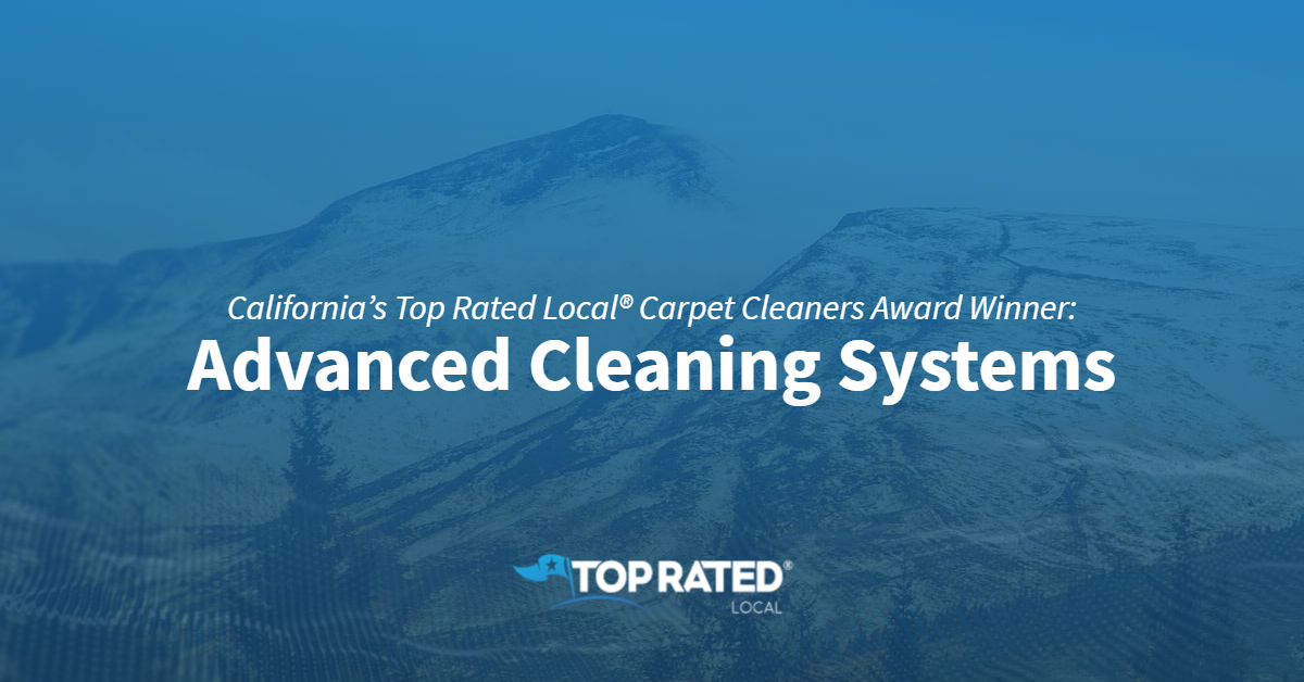 California's Top Rated Local® Carpet Cleaners Award Winner: Advanced Cleaning Systems
