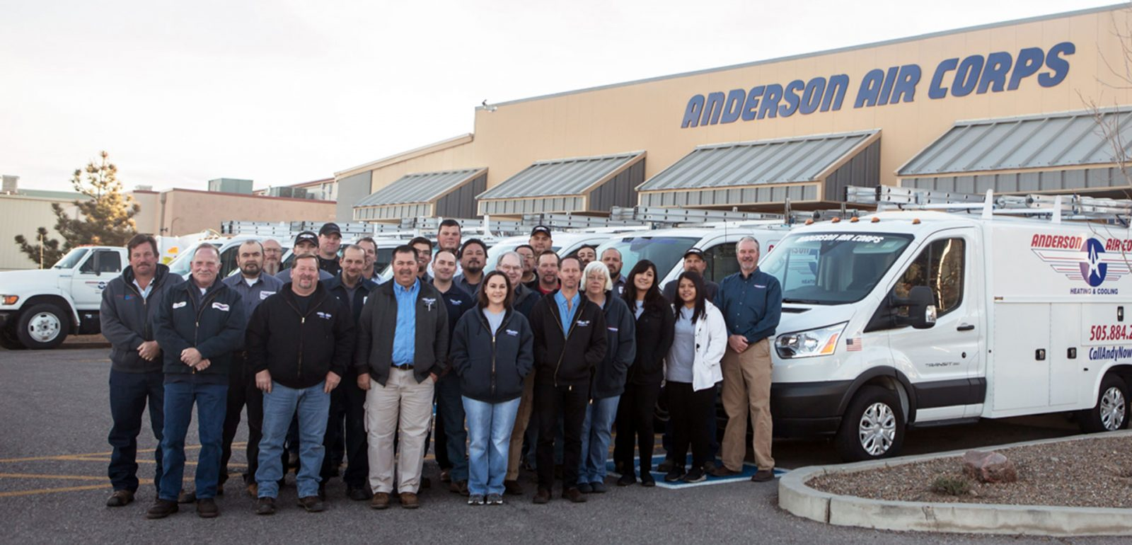 New Mexico's Top Rated Local® HVAC Award Winner: Anderson Air Corps