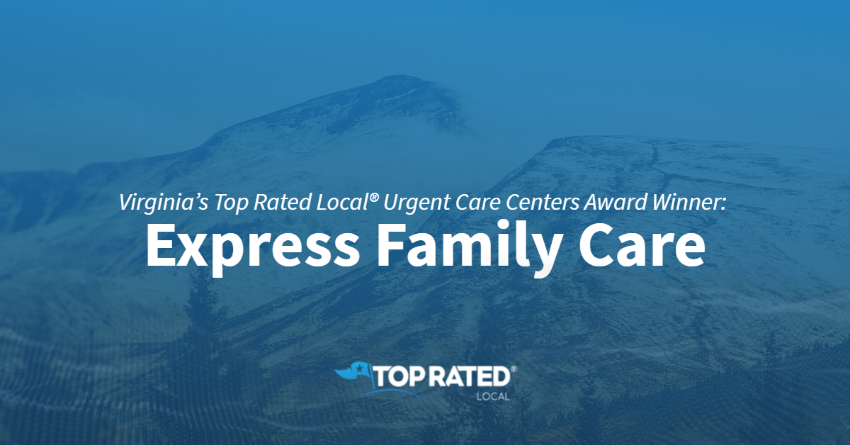 Virginia's Top Rated Local® Urgent Care Centers Award Winner: Express Family Care