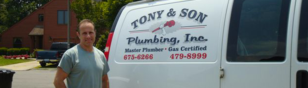 Virginia's Top Rated Local® Plumbers Award Winner: Tony & Son Plumbing, Inc.