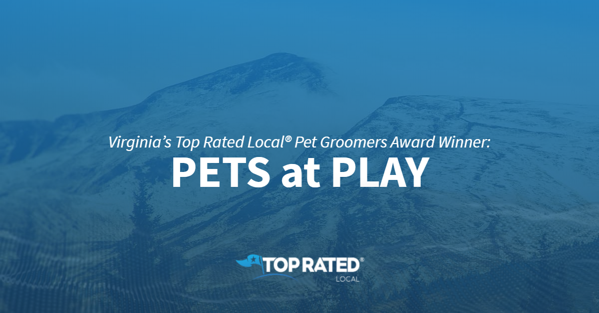Virginia's Top Rated Local® Pet Groomers Award Winner: PETS at PLAY