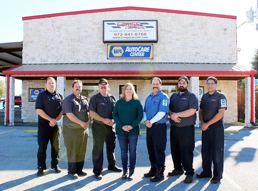 Texas' Top Rated Local® Auto Shops Award Winner: Craig's Car Care