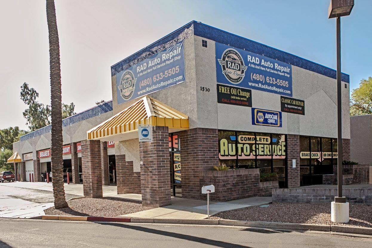Arizona's Top Rated Local® Auto Shop Award Winner: RAD Auto Repair