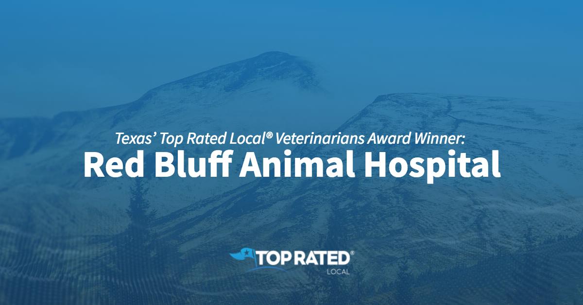 Texas' Top Rated Local® Veterinarians Award Winner: Red Bluff Animal Hospital