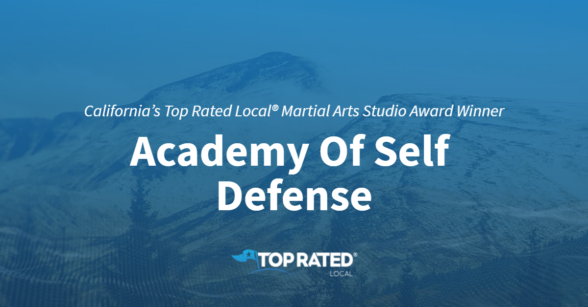California's Top Rated Local® Martial Arts Studio Award Winner: Academy Of Self Defense
