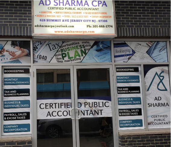 New Jersey's Top Rated Local® Accounting Firms & CPAs Award Winner: AD Sharma CPA LLC