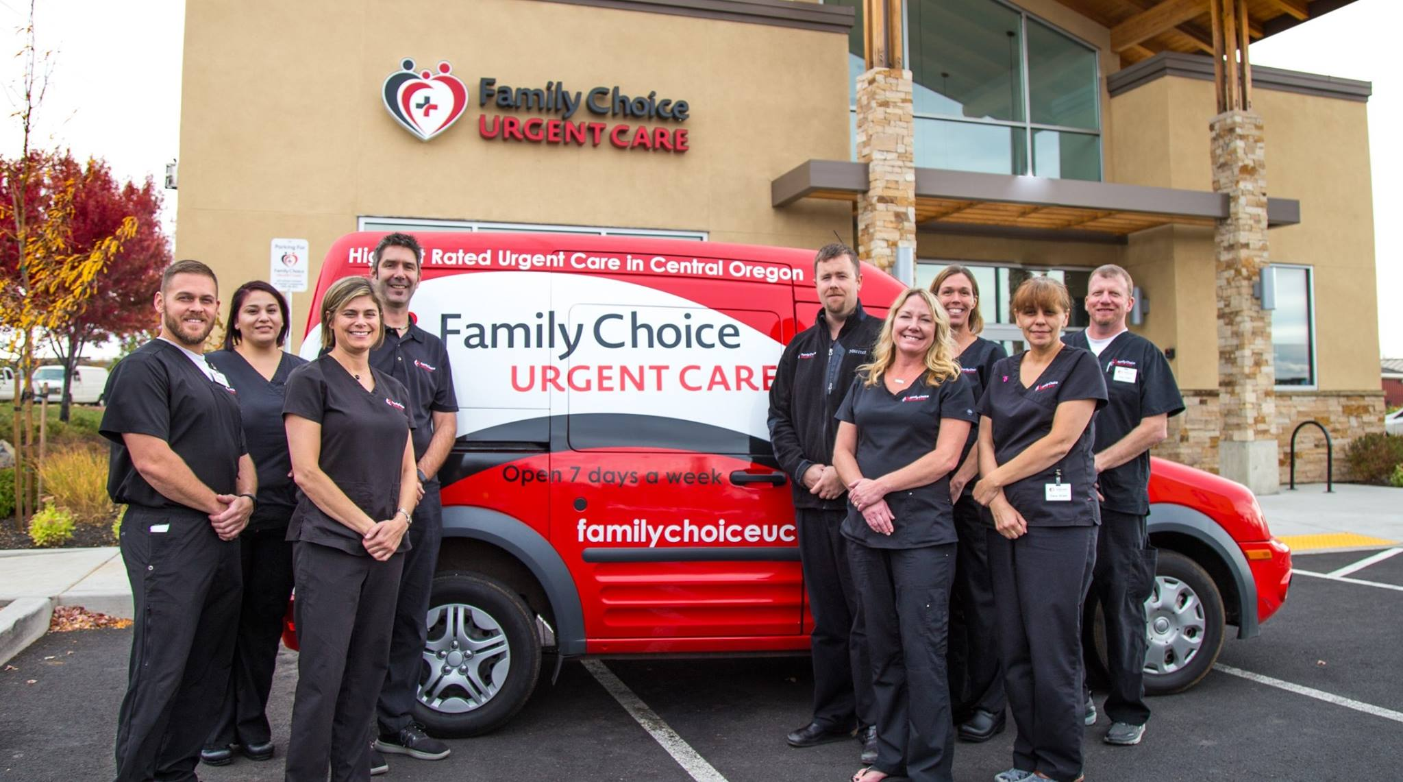 Oregon's Top Rated Local® Urgent Care Centers Award Winner: Family Choice Urgent Care