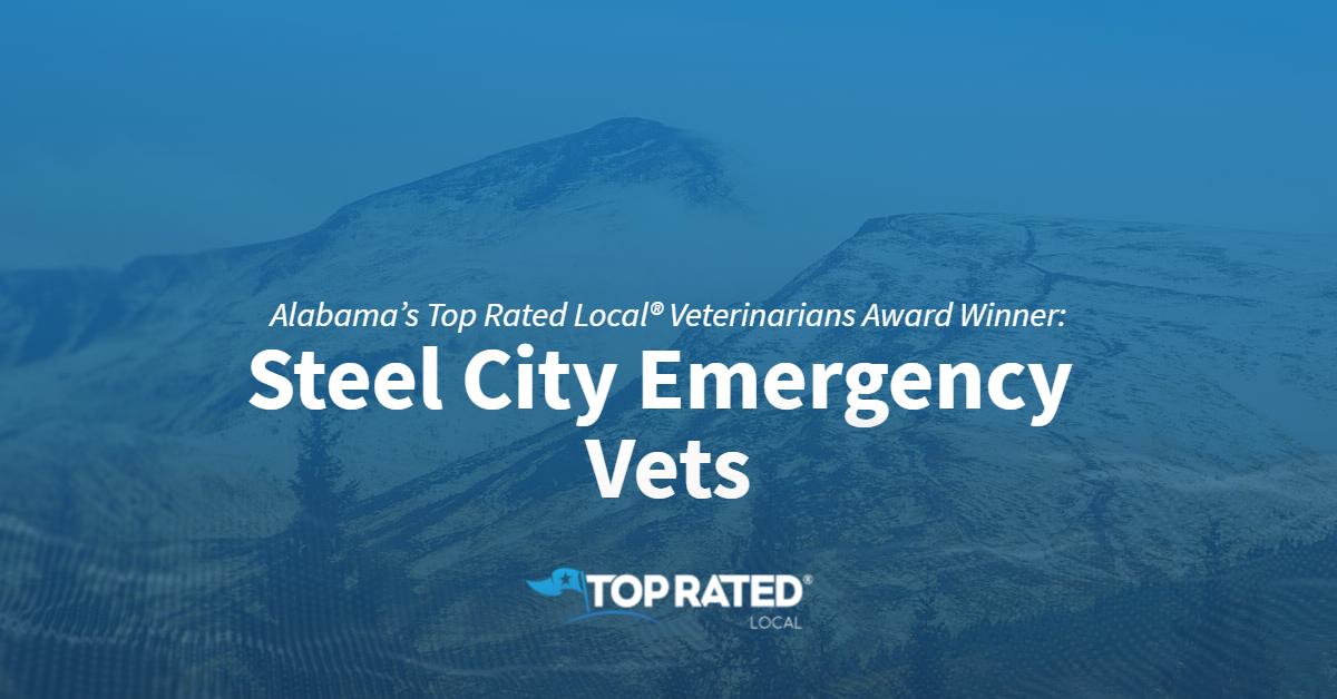 Alabama's Top Rated Local® Veterinarians Award Winner: Steel City Emergency Vets