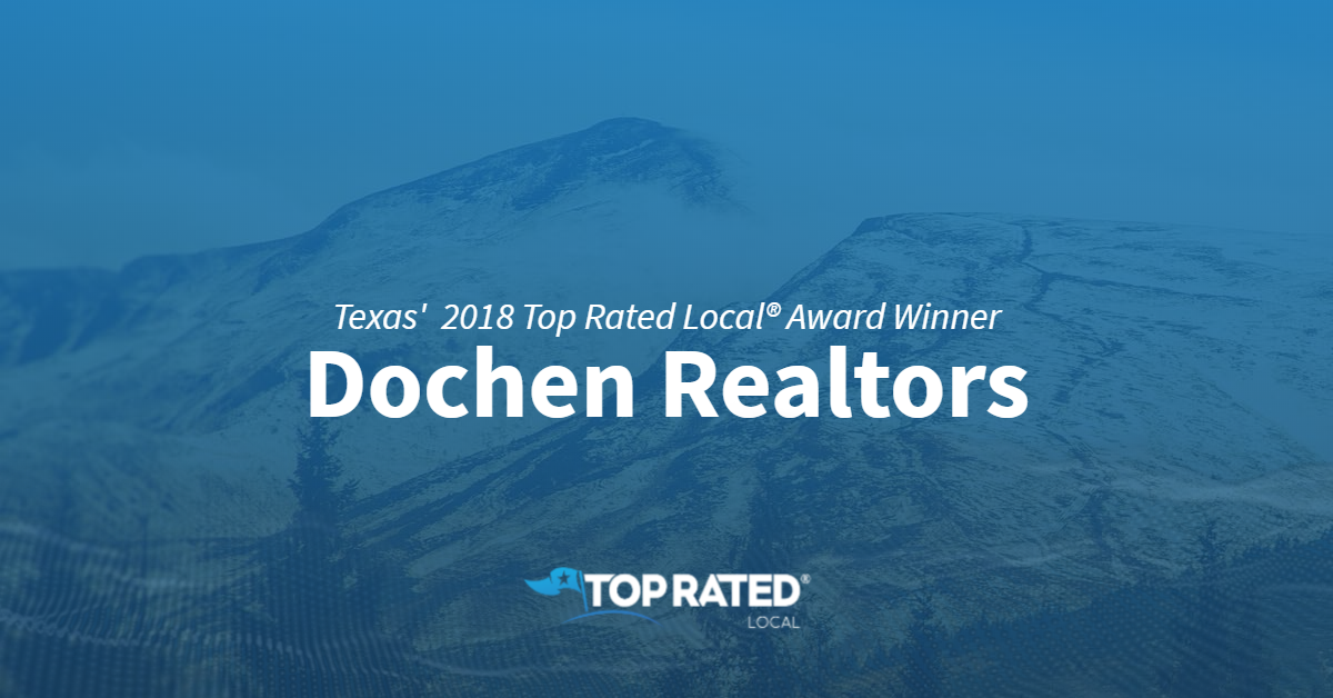 Texas' Top Rated Local® Real Estate Broker Award Winner: Dochen Realtors