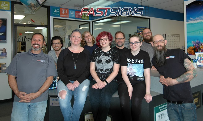 Michigan's Top Rated Local® Sign Companies Award Winner: FASTSIGNS of Farmington Hills