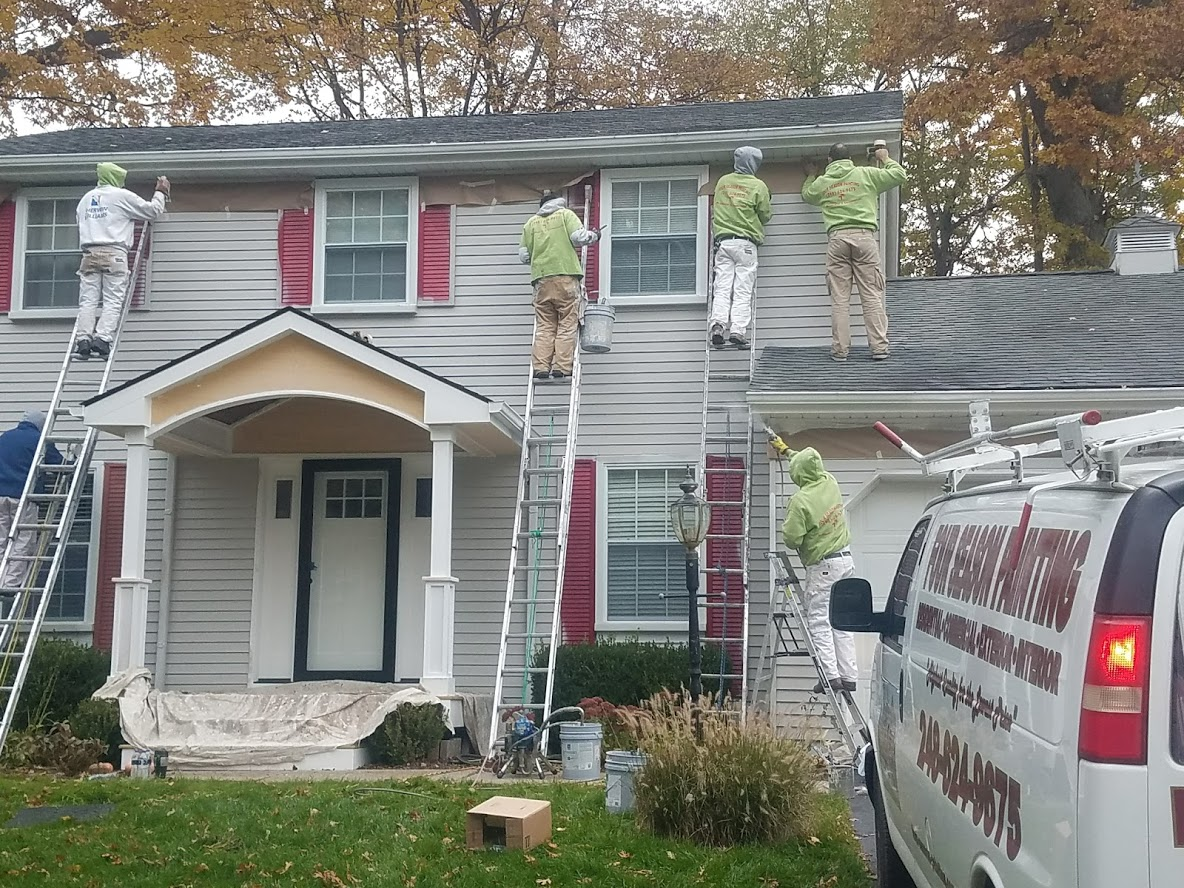 Michigan's Top Rated Local® Painting Contractors Award Winner: Four Seasons Painting