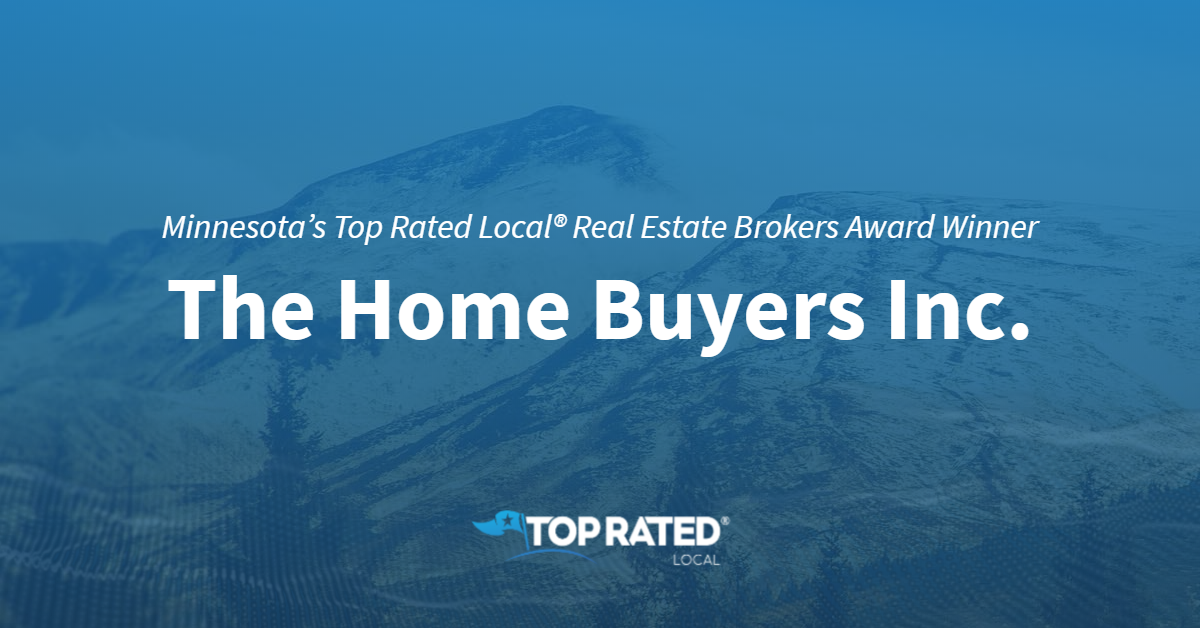 Minnesota's Top Rated Local® Real Estate Brokers Award Winner: The Home Buyers, Inc.