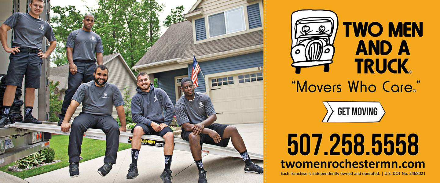 Minnesota's Top Rated Local® Moving Service Companies Award Winner: Two Men and A Truck