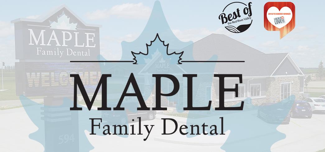 North Dakota's Top Rated Local® Dentists Award Winner: Maple Family Dental