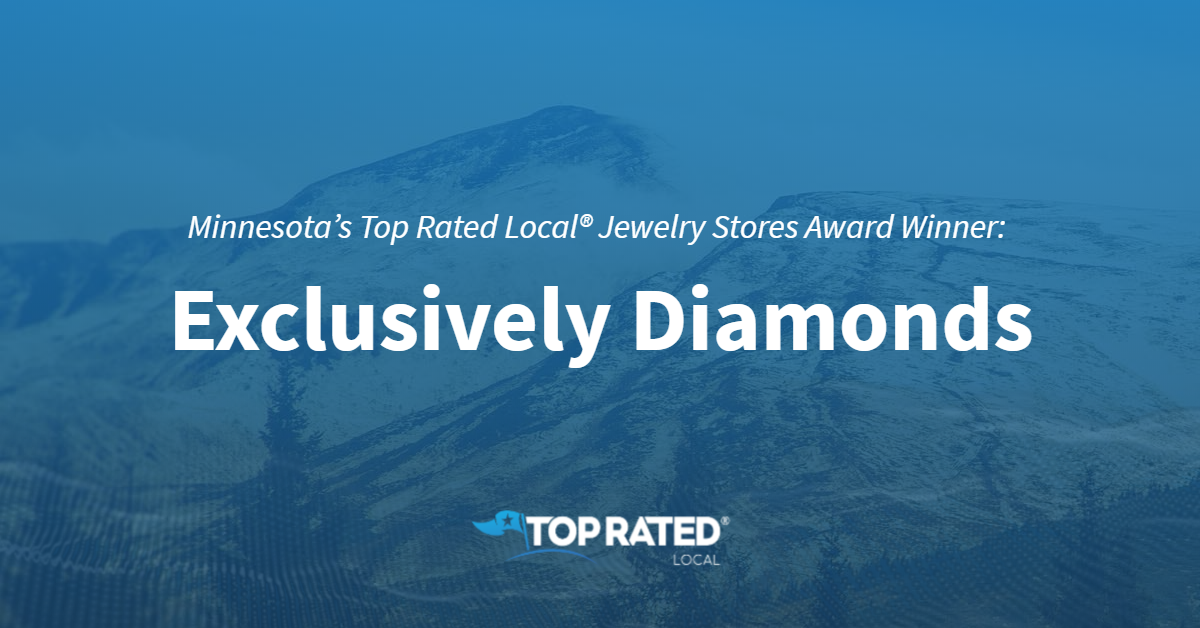 Minnesota's Top Rated Local® Jewelry Stores Award Winner: Exclusively Diamonds