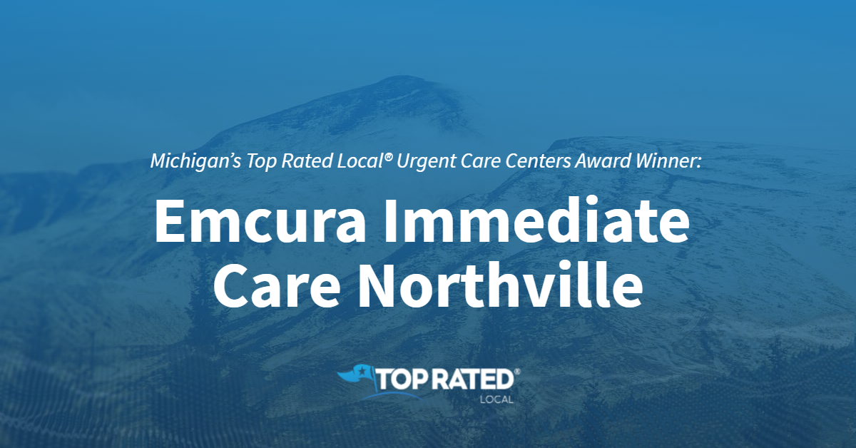 Michigan's Top Rated Local® Urgent Care Centers Award Winner: Emcura Immediate Care Northville